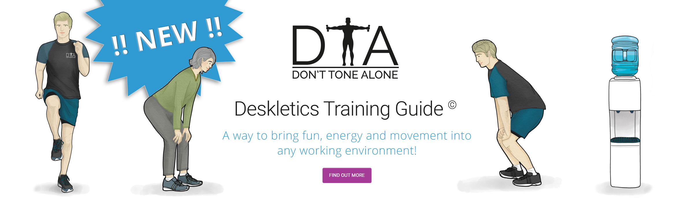 NEW!! - Deskletics Packs now available